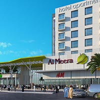Al Meera Mall & Hotel Apartments in Sur