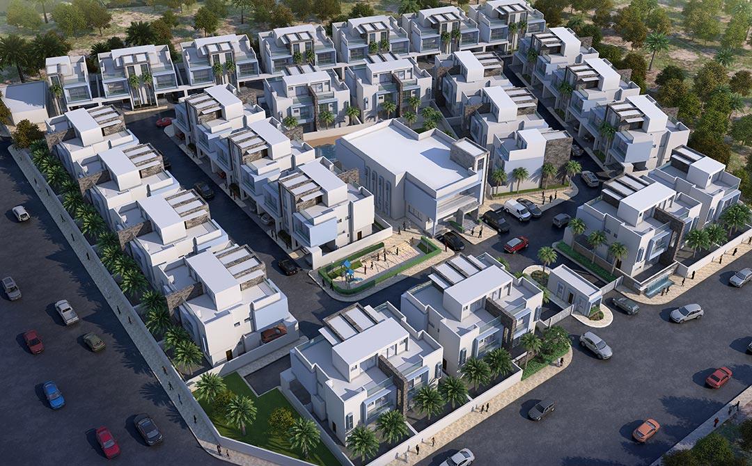 Residential Villa Compound Muraikh | Ibrahim Jaidah Architects