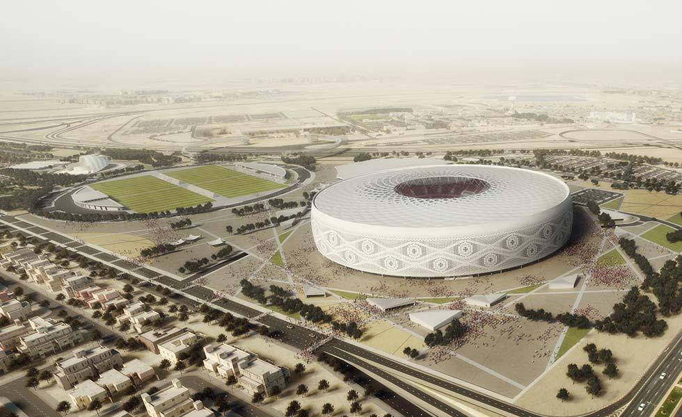 Design for AEB's Al Thumama World Cup 2022 Stadium revealed!