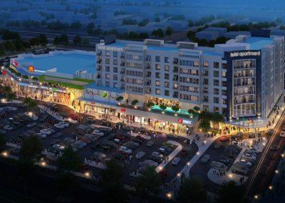 Al Meera Mall & Hotel Apartments in Sur